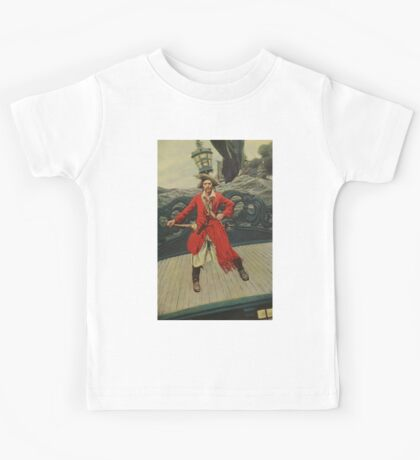 Pirate Captain Kids Tee