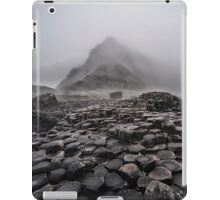 Early foggy morning in the land of hexagonal stones iPad Case/Skin