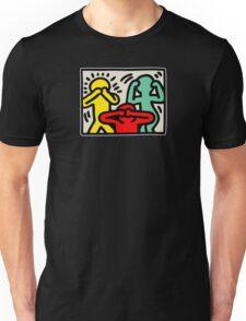 Keith Haring 3 Monkey Unisex T-Shirt
