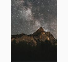Milky Way Over Mountains- Landscape Photography Unisex T-Shirt