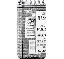 Grand Mass Meeting! iPhone Case/Skin