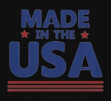Made in the USA One Piece - Short Sleeve
