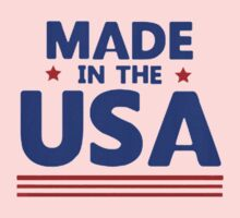 Made in the USA Kids Tee