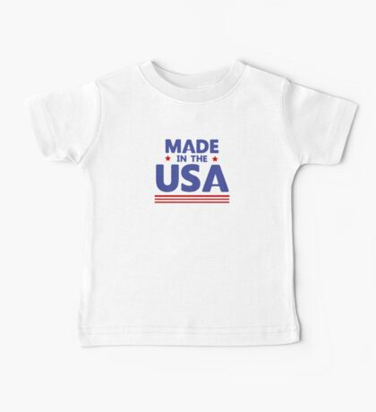 Made in the USA Baby Tee