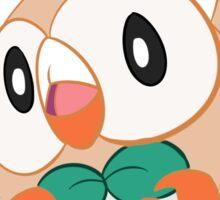 Rowlett Starter Owl Grass Sticker
