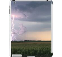 Lightning on a Farm iPad Case/Skin