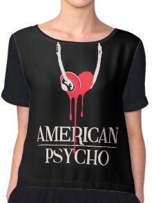American Psycho Chiffon Top
