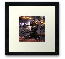 The Wuju Bladesman Framed Print
