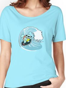 Squirtle Squad Surfer Women's Relaxed Fit T-Shirt