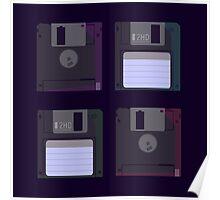 Floppies (Dark) Poster