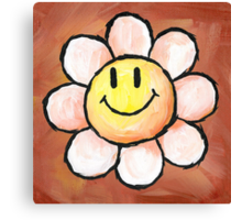 Yoshi's Island Flower Canvas Print