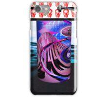 Bidón radiactivo y calaberas demolition iPhone Case/Skin