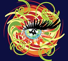 Eye of Love (2010) by Robyn Scafone