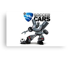 Soccer Cars Canvas Print