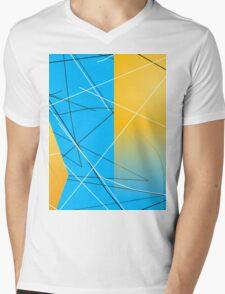 Abstract Shower Mens V-Neck T-Shirt