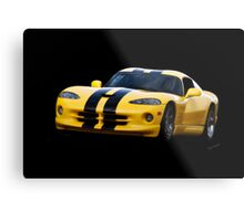 2001 Dodge Viper 'Methanol Injected' Coupe Metal Print