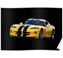 2001 Dodge Viper 'Methanol Injected' Coupe Poster