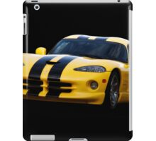 2001 Dodge Viper 'Methanol Injected' Coupe iPad Case/Skin