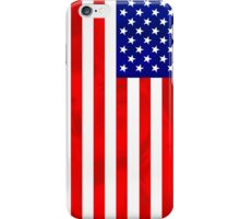 Abstract USA Flag iPhone Case/Skin
