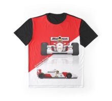 Ayrton Senna - McLaren MP4/8 Graphic T-Shirt