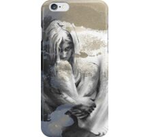c'est la vie drawing with overlay iPhone Case/Skin