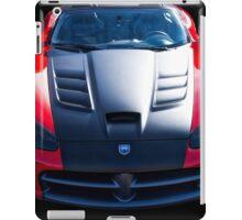 Dodge Viper Roadster 'Bonnet' iPad Case/Skin