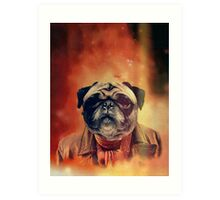 THE WAR DOGTOR Art Print