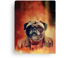THE WAR DOGTOR Canvas Print