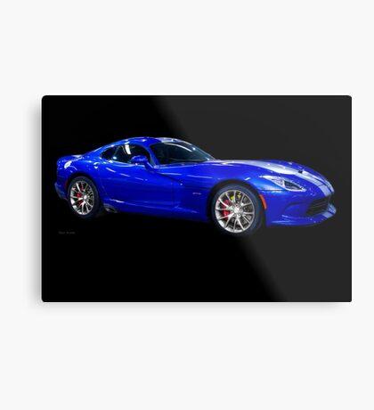 201X Dodge Viper STS Coupe Metal Print