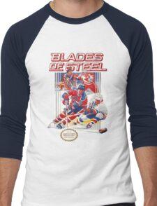NES Blades of Steel  Men's Baseball ¾ T-Shirt