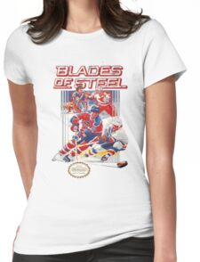 NES Blades of Steel  Womens Fitted T-Shirt