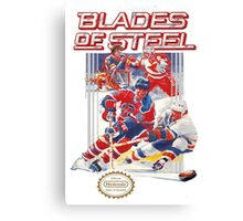 NES Blades of Steel  Canvas Print