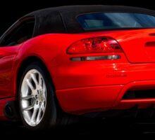 Dodge Viper 'Red Tail' Roadster Sticker