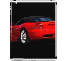 Dodge Viper 'Red Tail' Roadster iPad Case/Skin