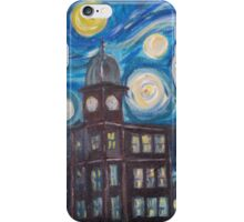 Auburn Starry Night iPhone Case/Skin