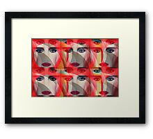 """""""Fame 8"""" Pop Not airbrush art by L. R. Emerson II Framed Print"""