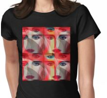 """""""Fame 8"""" Pop Not airbrush art by L. R. Emerson II Womens Fitted T-Shirt"""