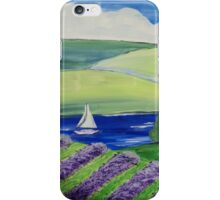 Lavender of the Lakes iPhone Case/Skin