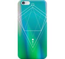 Hologram geometry iPhone Case/Skin
