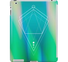 Hologram geometry iPad Case/Skin