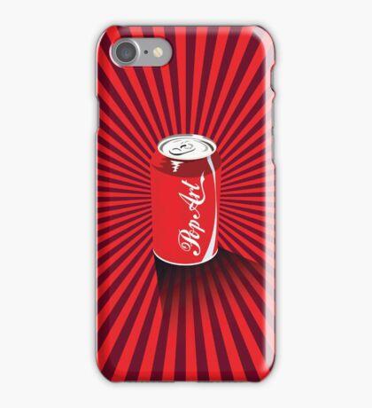 Cola Pop Coke Pop Art Print iPhone Case/Skin