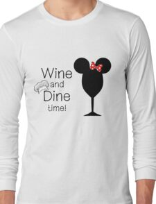 Food and Wine Festival Time Long Sleeve T-Shirt