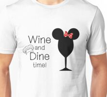 Food and Wine Festival Time Unisex T-Shirt