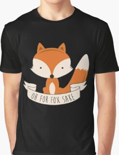 fox sake Graphic T-Shirt