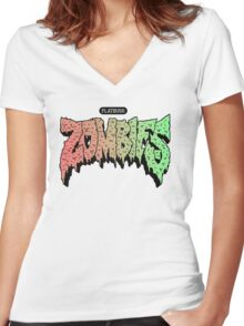 The Zombies - 1 Women's Fitted V-Neck T-Shirt