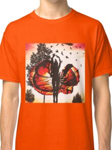 Sunset Ballerina  Classic T-Shirt