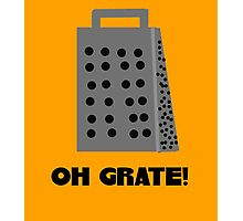 Oh, Grate Photographic Print
