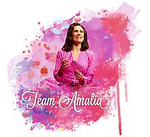 Team Amalia colour splash Photographic Print