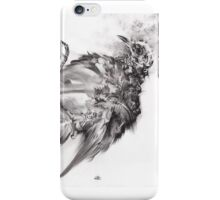 senescence 9 - charcoal drawing iPhone Case/Skin