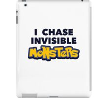 Pokemon Go I Chase Invisible Monsters iPad Case/Skin